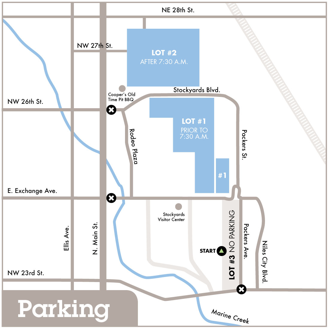 Parking FortWorth Maps 20173