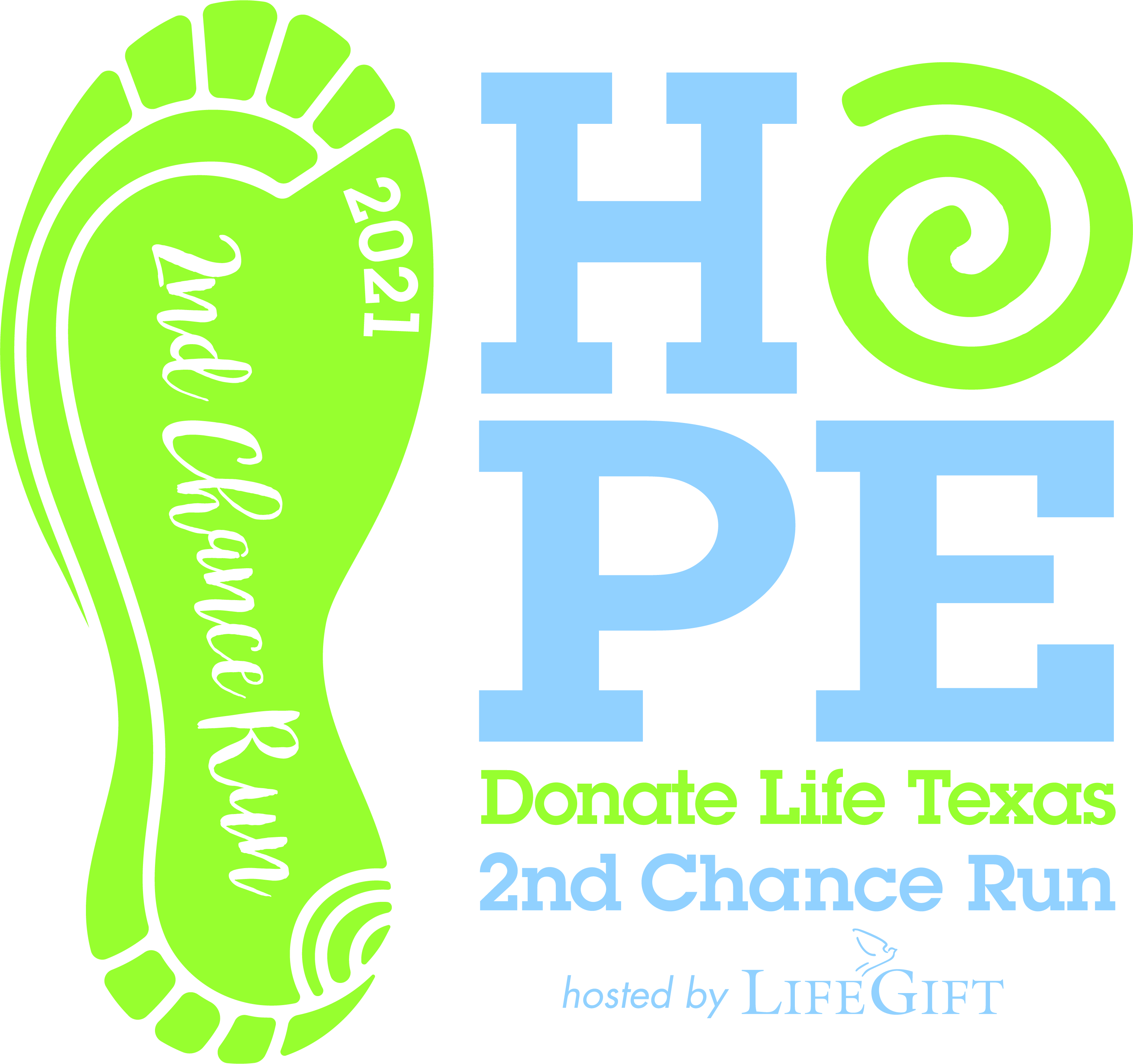 Hope | 2021 2nd Chance Run | Hosted by LifeGift